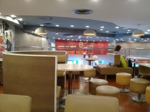 シンガポールのKFC
