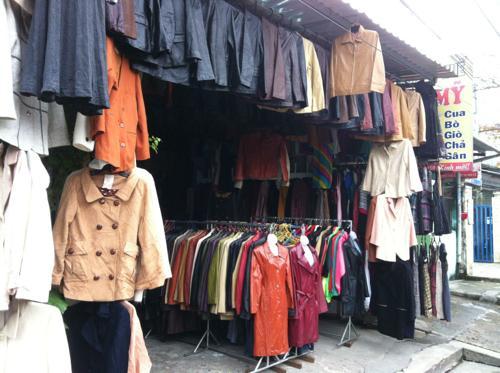 コート売り場