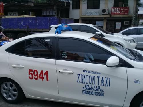 セブのタクシー