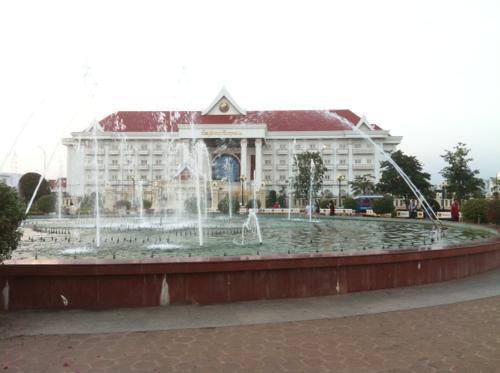 ビエンチャンの宮殿