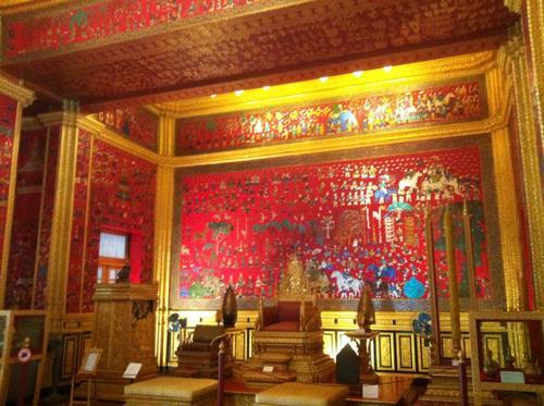 王宮博物館の展示