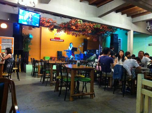 ヤンゴンのレストラン