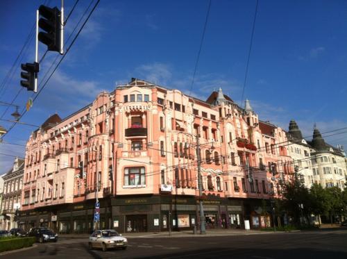 ハンガリーで泊まった場所