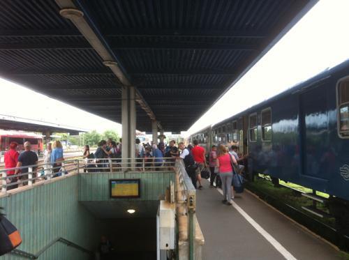 ハンガリーの鉄道駅