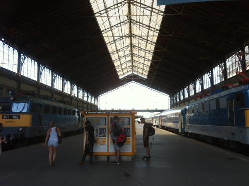ブダペストの東駅