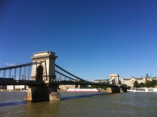 ブダペストのセーチェーニ鎖橋