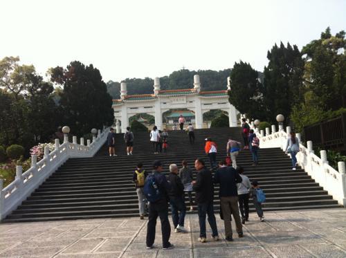 故宮博物館への階段