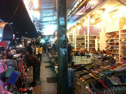 靴を売る店