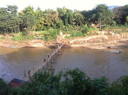 メコン川と橋