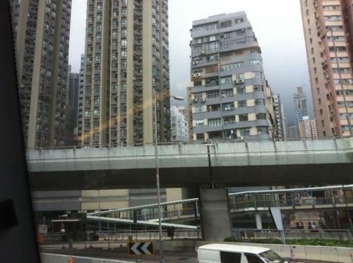 香港の高層住宅