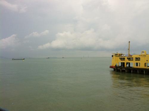 ジョージタウン近くの海