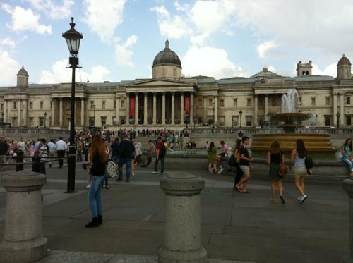 ロンドンのナショナル・ギャラリー
