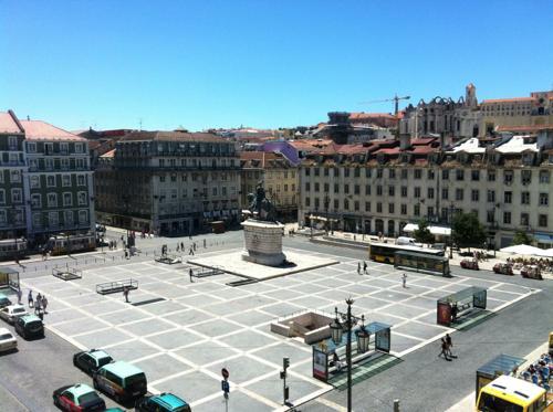 リスボンの広場