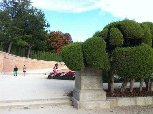 マドリッドの公園