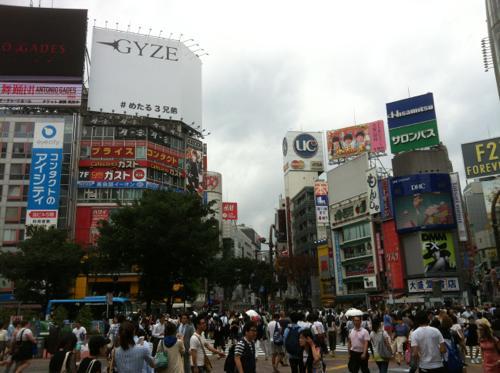 通勤時の渋谷