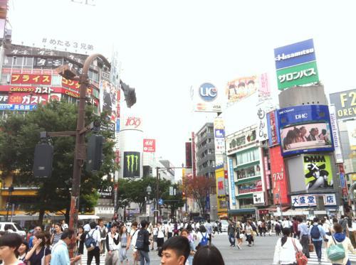 渋谷の駅前
