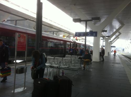 ザルツブルグ中央駅