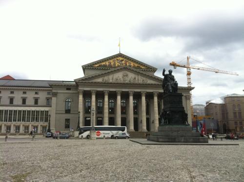 ミュンヘンのバイエルン国立歌劇場