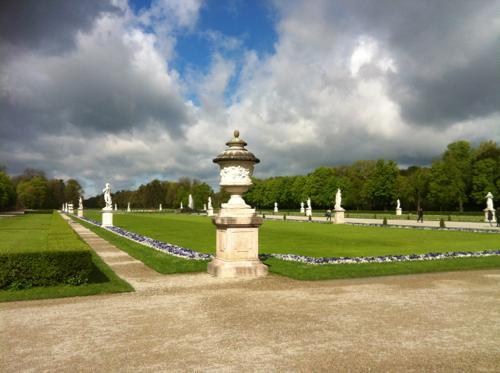 ニンフェンブルグ宮殿の庭園