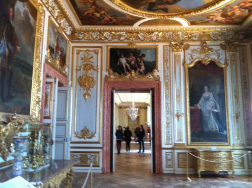 ニンフェンブルク宮殿の絵画