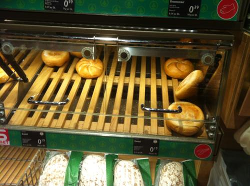 バートイシュルのMELKURのパン売り場