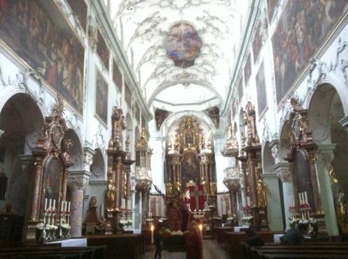 聖ペーター教会内部