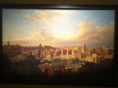 パノラマ博物館の絵画