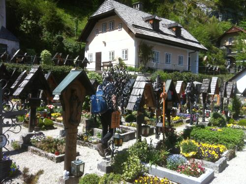 Hallstatt Lutheran Churchの墓地