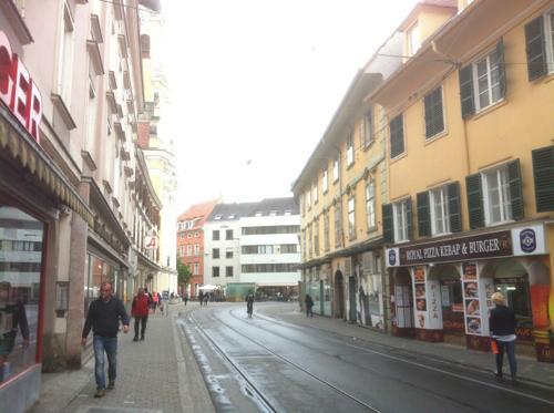 グラーツの街並み