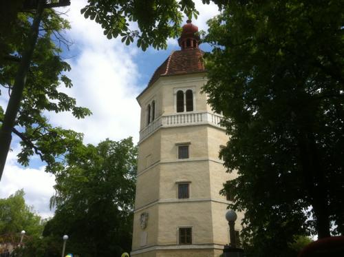 シュロスベルクの鐘楼の外観