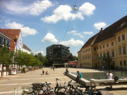 グラーツの広場