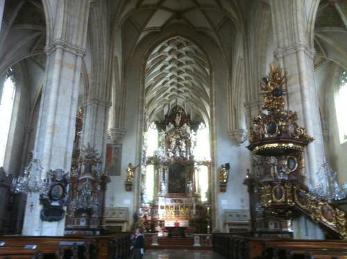 グラーツ大聖堂の内部