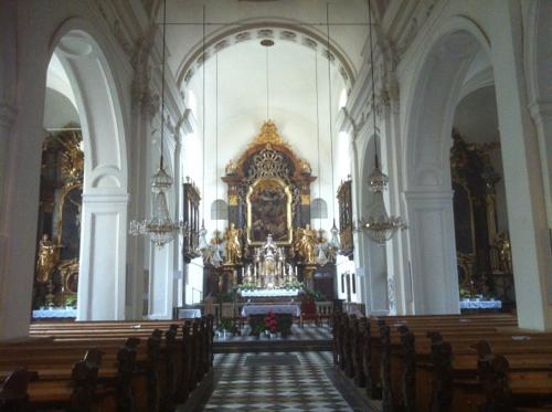 minorite church内部