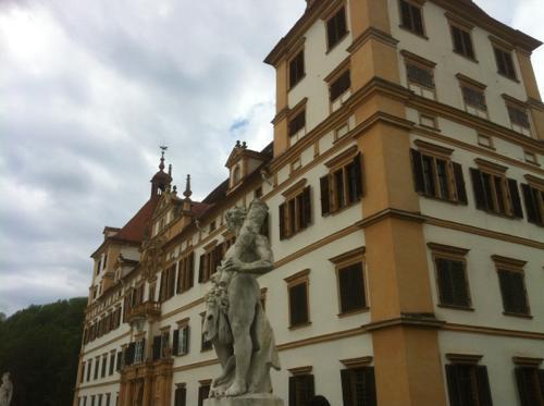 エッゲンベルク城の外観