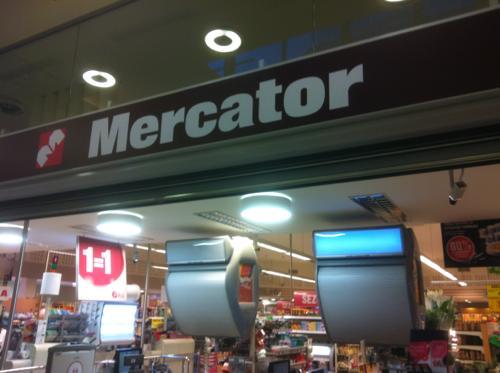 リュブリャナのMercator