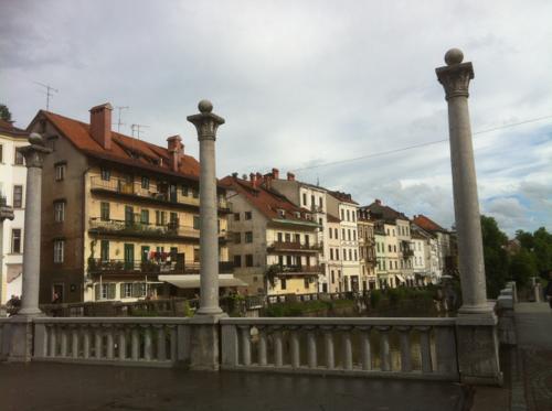 リュブリャナの三本橋