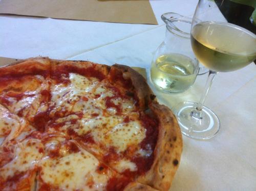 マルガリータと白ワイン