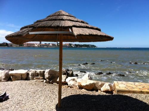 クロアチア・ポレッチのアドリア海沿岸