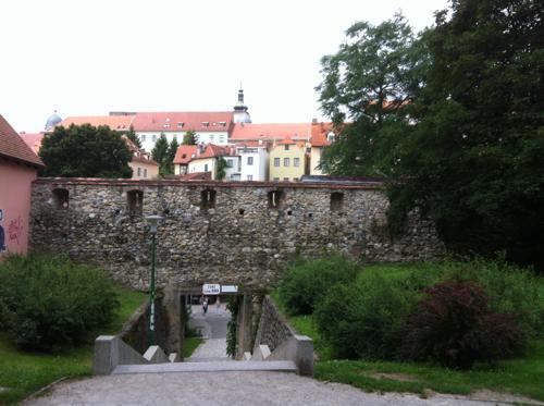 クロアチアの城