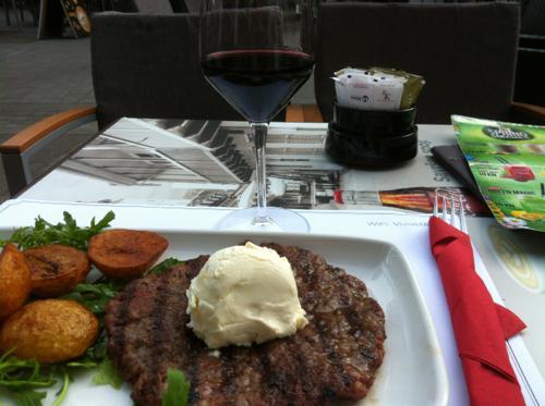 ザグレブのステーキ