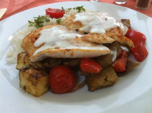 ウィーンで食べた鶏肉料理