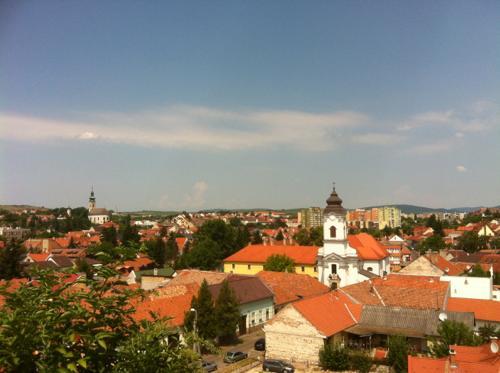 ハンガリー・エゲルの赤レンガの街