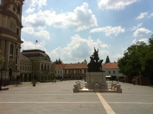 ハンガリー・エゲルの広場