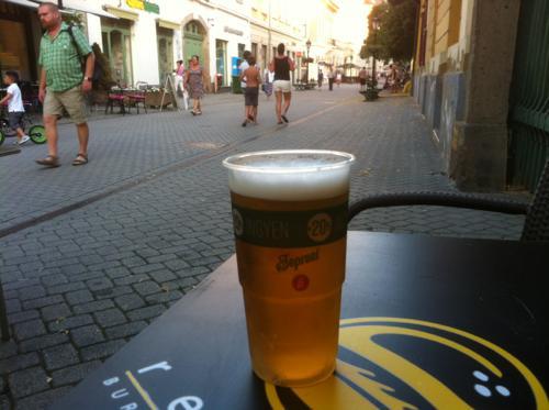 プラハのビール