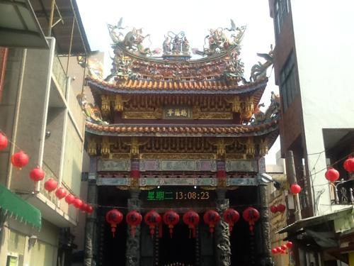台南の寺院