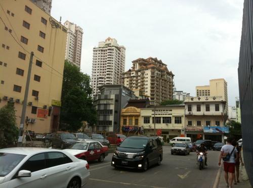 マレーシアの道路