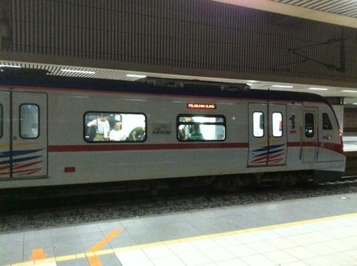クアラルンプールの地下鉄