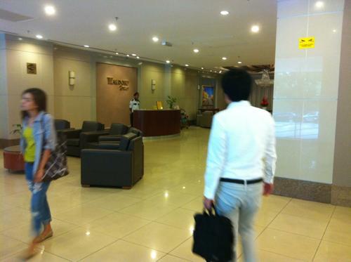 マレーシアのオフィス