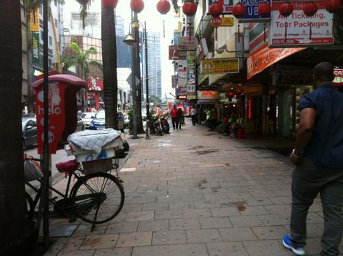 クアラルンプールの中華街