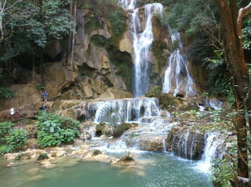 クァンシ―の滝